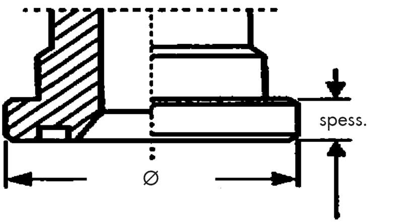 Flansch SAE 3000 PSI –  Gerade Ausführung  - ARM-HYDR-FLSH-SAE3000-SFL-3-DN32-1 1/2ZO