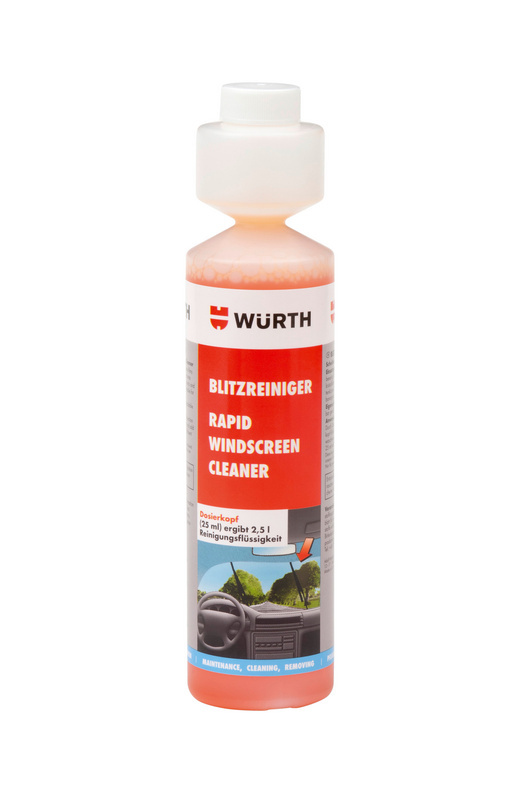 Środek czyszczący do przednich szyb Środek do szybkiego czyszczenia szyb TopDos - PLYN DO SPRYSKIWACZY 250ML