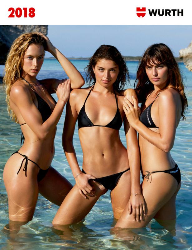 Girls' calendar - WUERTH MODEL CALENDAR NEUTRAL