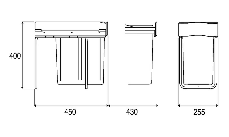 syst me de tri des ordures 30 dt. Black Bedroom Furniture Sets. Home Design Ideas
