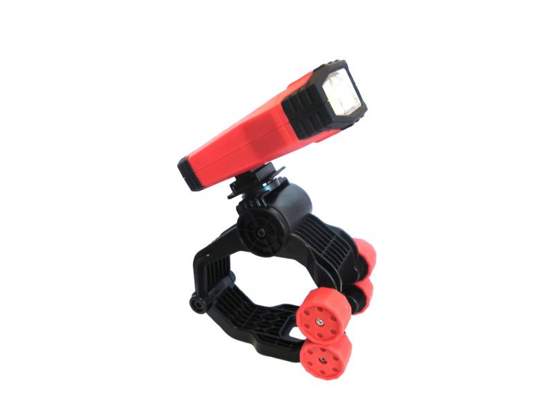 Hand Held Lamp, Battery Hood Hawk - LAMP-BTRY-1000LM-10W-RED/BLACK-IP51