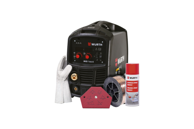 MIG 180-5 Welding Machine Bundle Offer - MIG 180-5 BUNDLE OFFER
