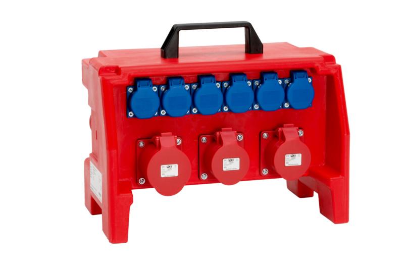 Kunststoff-Steckdosenverteiler WSDV - STROMVERT-KST-WSDV2