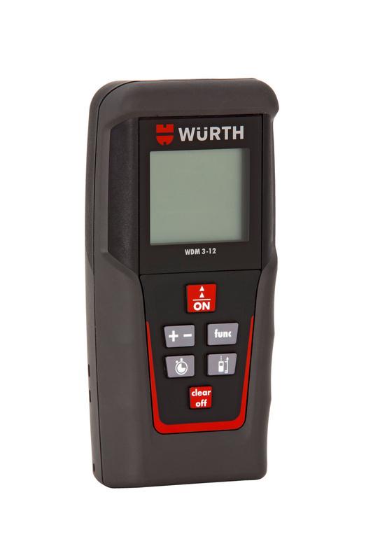 Medidor de dist ncia laser wdm 3 12 5709300508 for Medidor de distancia laser