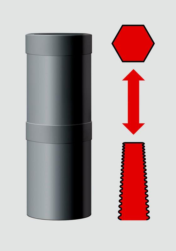 1/2 inch double-spiral socket set - SPRLSKT-KIT-DB-5PCS