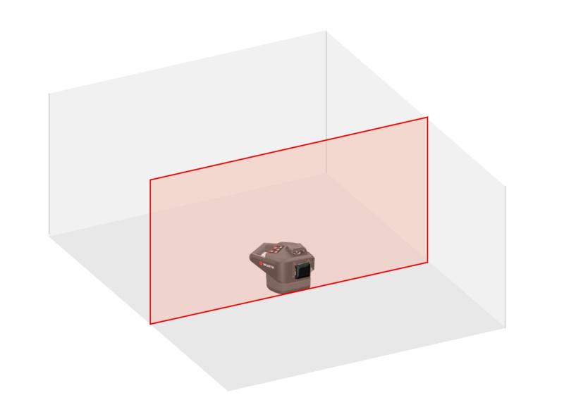 Laser lineare - LIVELLO-LASER-MULTILINEA- MLL18R