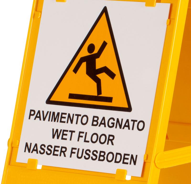 Segnale di sicurezza per pavimento bagnato - 0899605650