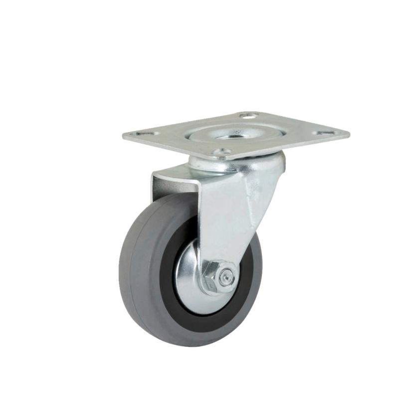 roulette de meuble de guidage avec plaque rotative. Black Bedroom Furniture Sets. Home Design Ideas