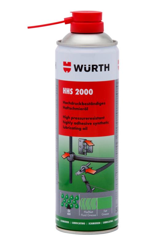 Hechtend smeermiddel HHS 2000<SUP>®</SUP> - HOGEDRUKSMEERSTOF HHS 2000   500 ML