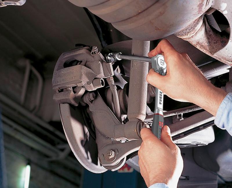 1/4 英寸杠杆式棘轮,防尘 - HBLKNAR-UMSCH-1/4ZO-136MM