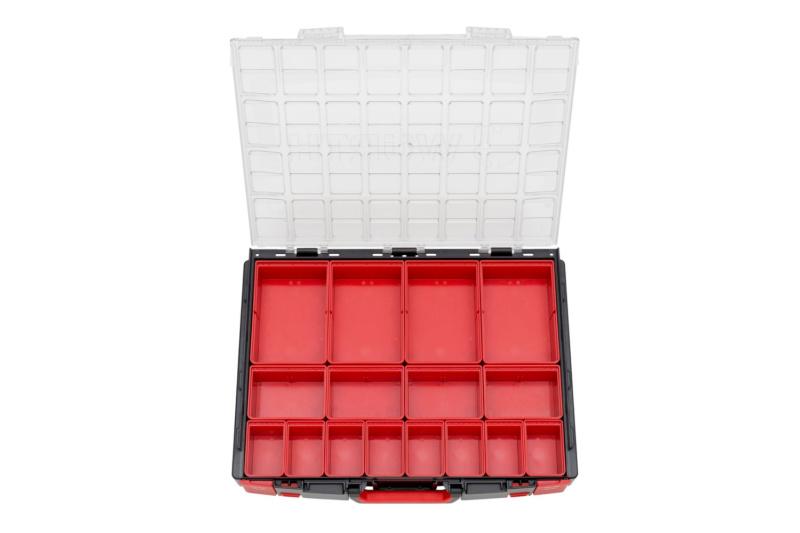 Systémový kufr prázdný 8.4.1 transparentní - 1