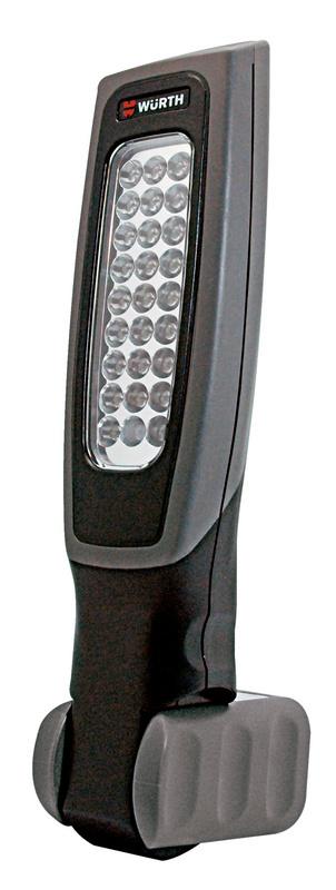 Battery-powered LED hand-held lamp, Ergolight  - LAMP-BTRY-HAND-26/1LED-230V-IP65