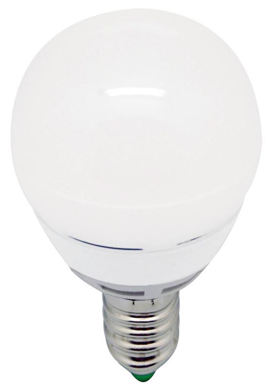 Lampadina a LED E14 sferica, senza varialuce - LAMPADA-LED-SFERA-E14-5,5W-2800K-470LM