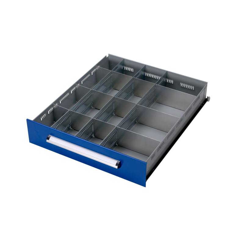 kit de s parateur de tiroir kwb 16 compartiments 0957501110. Black Bedroom Furniture Sets. Home Design Ideas