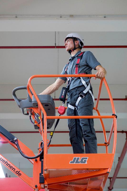 Valbeveiligerset Hoogwerker - FALLARSTR-SET-ELEVATING-WORK-PLATFORM