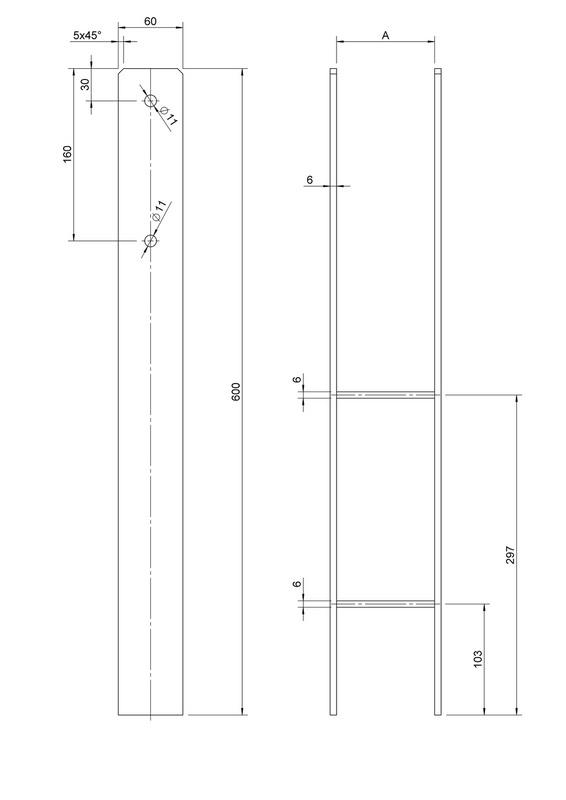 pfostentr ger bp h tzn. Black Bedroom Furniture Sets. Home Design Ideas