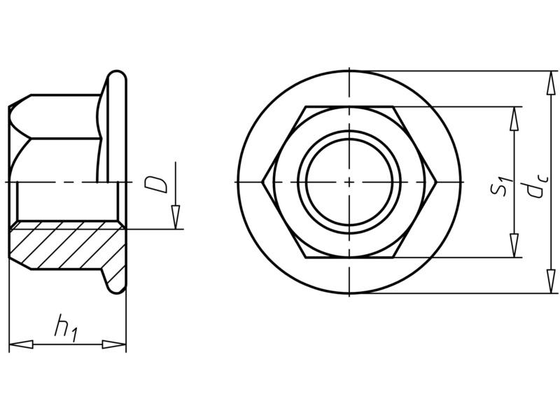 en 1664 stahl 10 verz dickschicht m versiegelung w rth. Black Bedroom Furniture Sets. Home Design Ideas