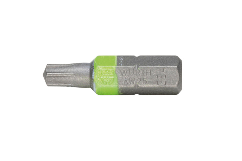 AW<SUP>®</SUP> bit - BIT-AW25-LUMINOUSGREEN-1/4IN-L25MM