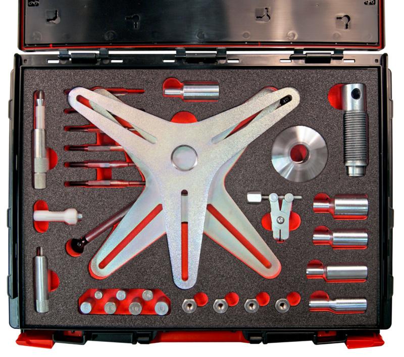 Set SAC-Kupplungswerkzeug 3/4 Arm Traverse