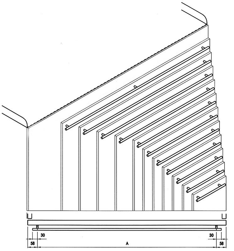 Maniglia per mobili di design 0685216039 for Outlet di mobili di design pittsburgh