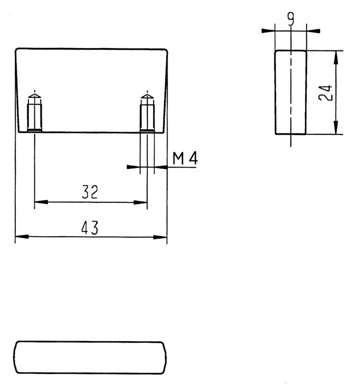 Maniglia per mobili di design zinc press mini for Consegna di mobili di design