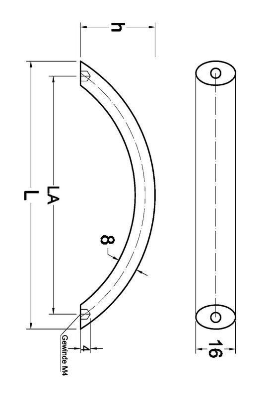Maniglia per mobili di design 0685001000 for Outlet di mobili di design pittsburgh