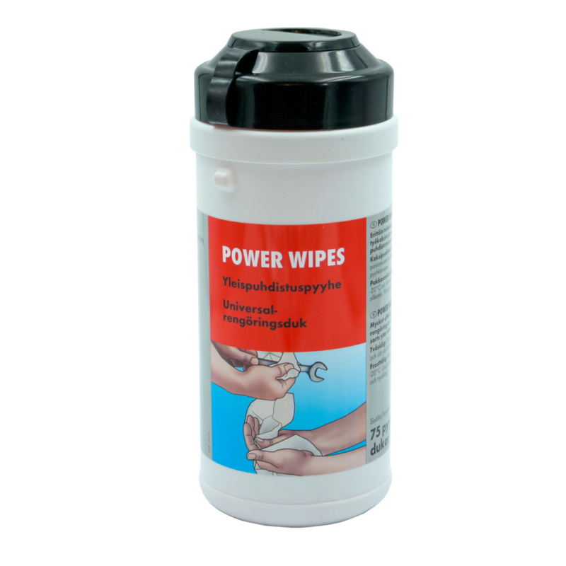 Cleaning cloth Power Wipes - CLNCLTH-MOIST-HAND-125PCS