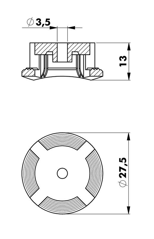 Upevňovač káblových kanálov W-KKBPLUS - 2