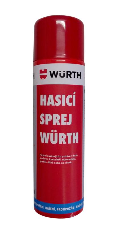 Hasicí sprej Würth - HASICÍ SPREJ WÜRTH