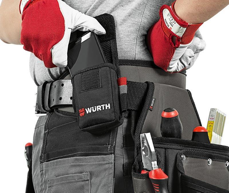 Heavy-duty belt bag set 5 pcs - BLBG-NYLON-HEAVYDUTY-6000X140X390MM