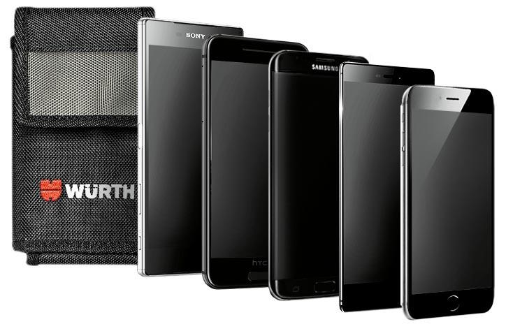 Etui pour téléphone portable Nylon - ETUI TEL PORTABLE VERTI 160X100X40MM