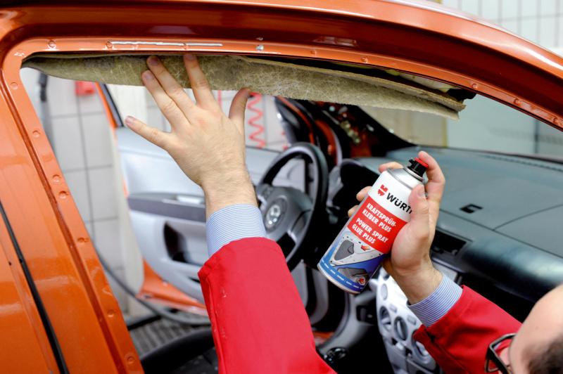 Cola em spray forte Plus - COLA DE CONTACTO EM SPRAY FORTE