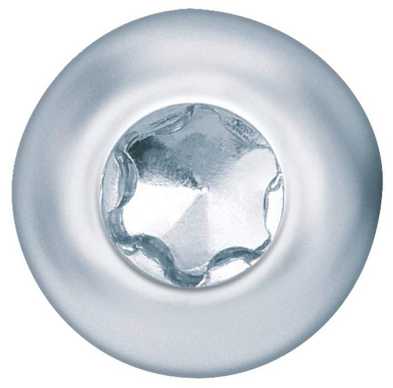 Vis à tôle à tête fraisée bombée, formeC avec empreinteAW - VIS TCB-SEL *WN111*-C-AW10-(A2K)-3,5X9,5