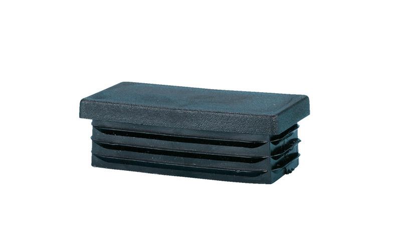 Plastic end cap rectangular