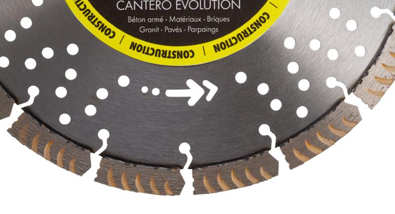 Disque Diamant CANTERO Évolution - 2