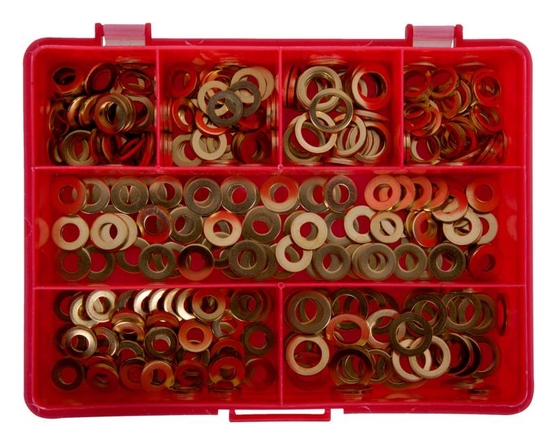 Assortiment De Rondelles Pour Fiches / Paumelles