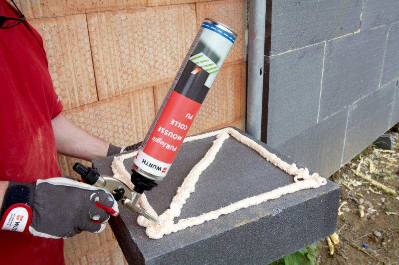 Colle pour polystyr ne extrud sur beton - Coller du polystyrene ...