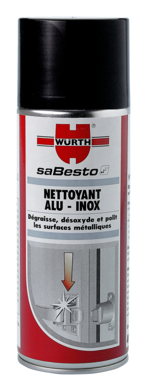 spray nettoyant pour acier inoxydable et aluminium. Black Bedroom Furniture Sets. Home Design Ideas