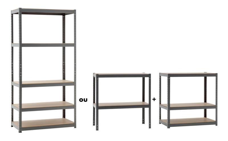 etag re d 39 atelier avec cinq niveaux. Black Bedroom Furniture Sets. Home Design Ideas