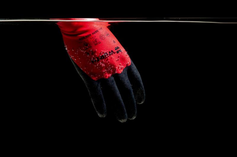 Ochranné rukavice MultiFit Dry - 0