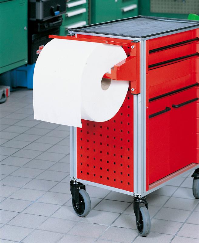 support rouleau papier pour servante datelier 0962605202. Black Bedroom Furniture Sets. Home Design Ideas