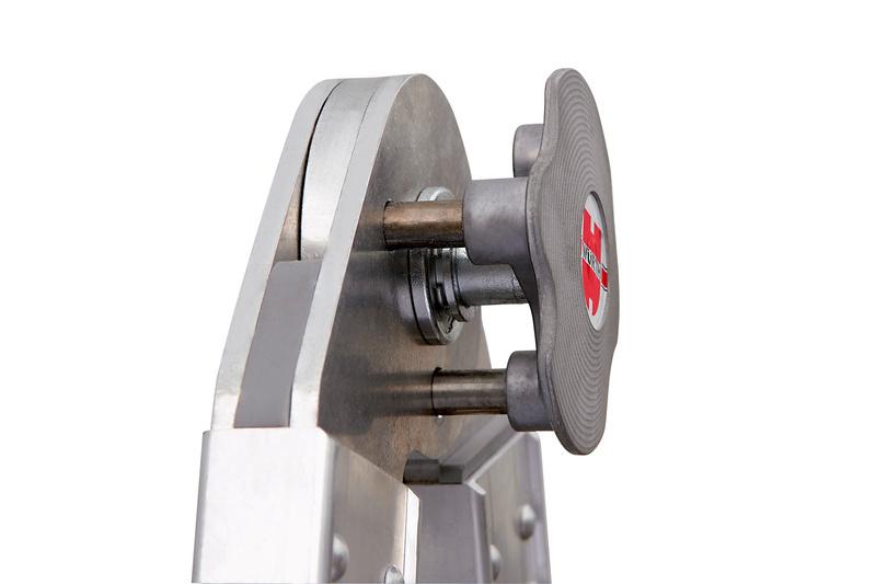 Scala telescopica in alluminio professionale - SCALA-TELESCOP-PROFI-ALU-4X4PIOLI