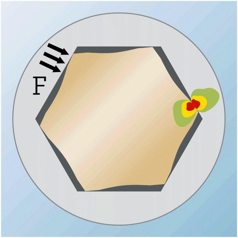 Hexagon socket bit - BIT-INHEX-WS3-1/4IN-L25MM