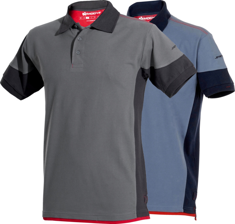 Stretch-fit polo shirt - 1