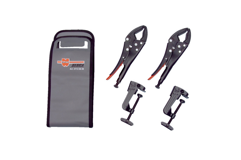 Mobile vice Vice-grip pliers set - LOKPLRS-SET-(UNI-JAWS)-4PCS