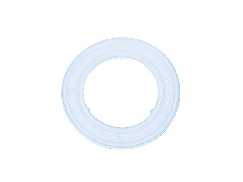 Rondelle in plastica per occhiello rotondo