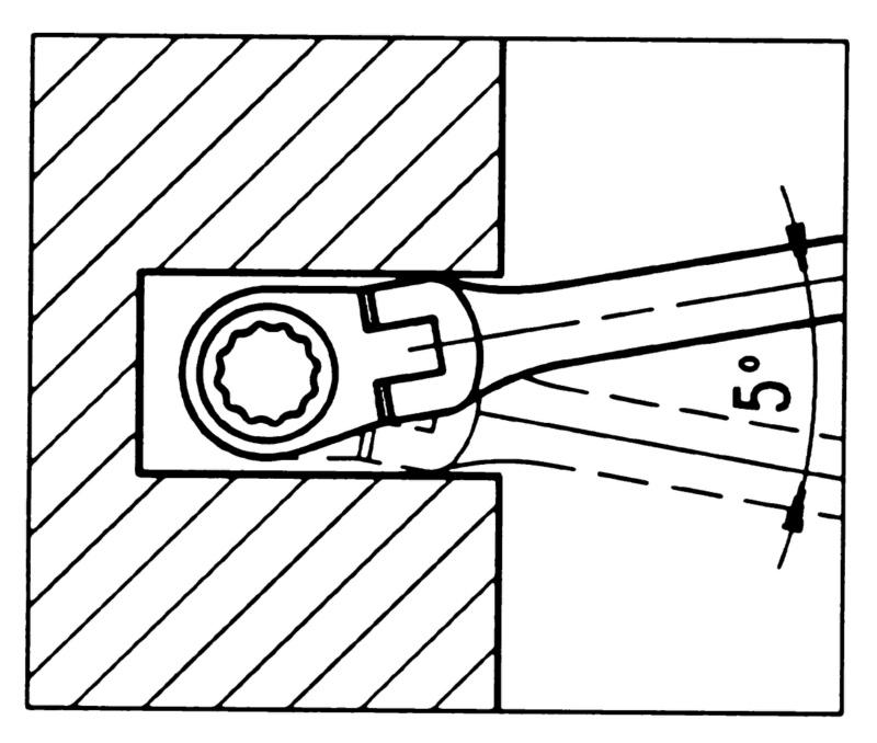 Köpükte cırcırlı kombine anahtar ürün gamı, esnek 6 parça - CIRCIRLI-MAFSALLI ANAHTAR SETİ-6PARÇA