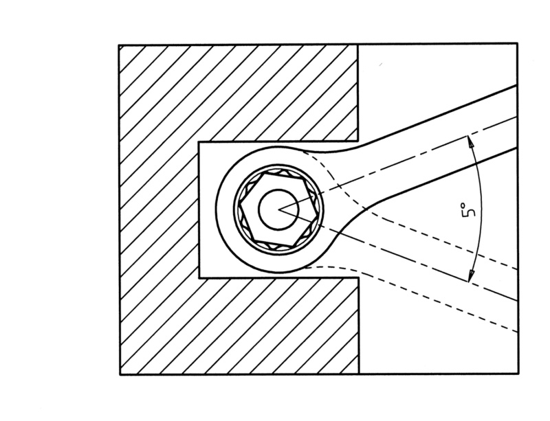 棘轮组合扳手 - 棘轮扳手-RTCHCOMBISPN-L225MM-WS17