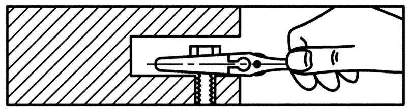 Nastaviteľný jednostranný vidlicový kľúč - KLUC VIDLICOVY NASTAVITELNY