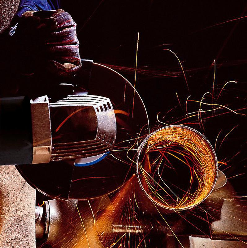 Longlife vágótárcsa acélhoz - VÁGÓTÁRCSA ZEBRA-LONGL.ACÉL. 125x2,